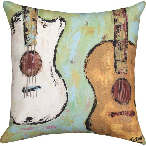 Manual Woodworkers & Weavers Strung Up Knife Edge Throw Pillow