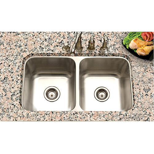 DNP - Houzer Eston 50/50 Double Bowl Sink
