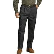 Genuine Dickies Men's and Big Men's Pleated Front Comfort-Waist Work Pants