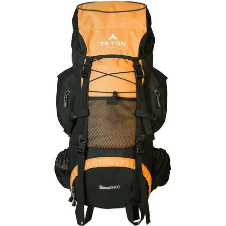 TETON Sports Scout3400 Backpack - Mecca Orange