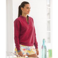 Fruit of the Loom Women's SofSpun Quarter-Zip Sweatshirt