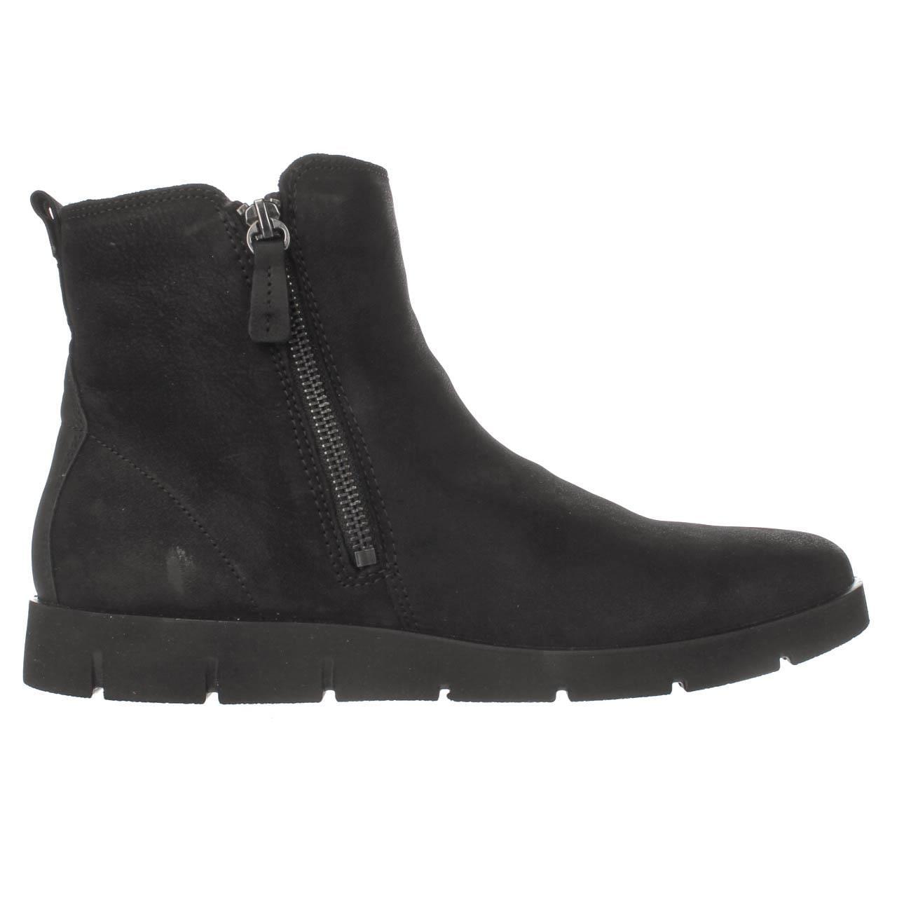 Womens ECCO Bella Boots Platform Ankle Boots Bella - Black e687d4