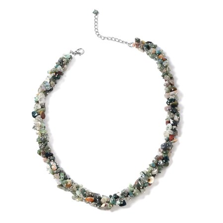 Fancy Glass Necklaces (Fancy Fashion Necklace For Women 21