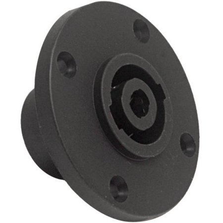Seismic Audio SAPT228 4 Pole SpeakOn Panel Mount Connector and Fits Series G Pattern Holes Pro Audio