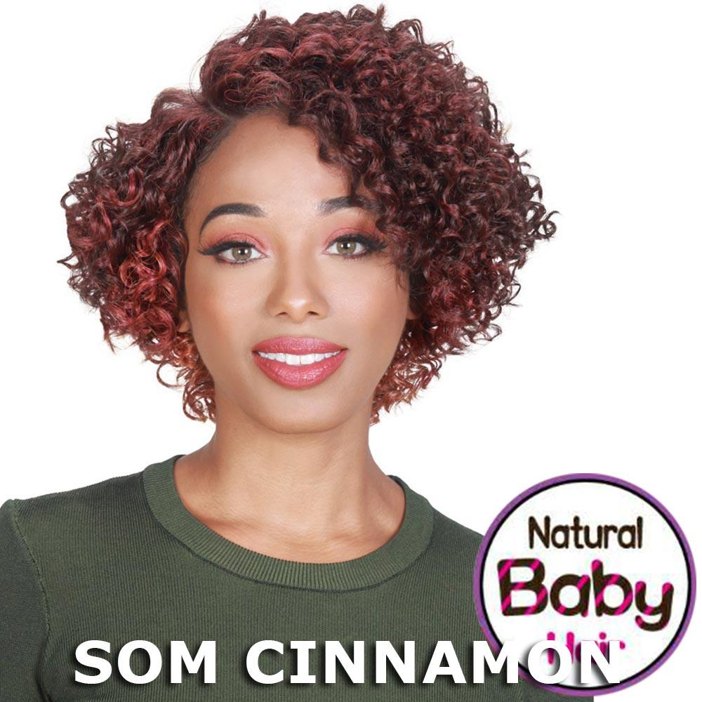 Sis Beyond Baby Hair Lace Front Wig - BALLY (SOM RT Burgundy)