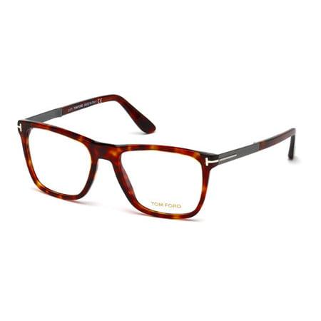2575a6643f TOM FORD Eyeglasses FT5351 005 Black 56MM - Walmart.com