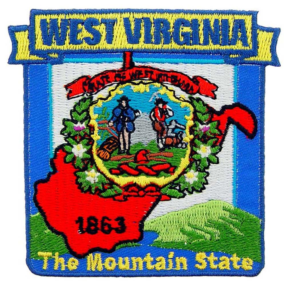 Virginia State Map Patch