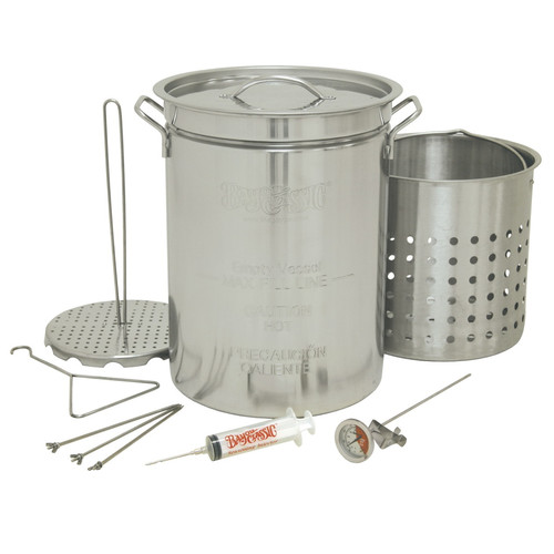 Bayou Classic Stainless Steel 32 Qt. Turkey Fryer