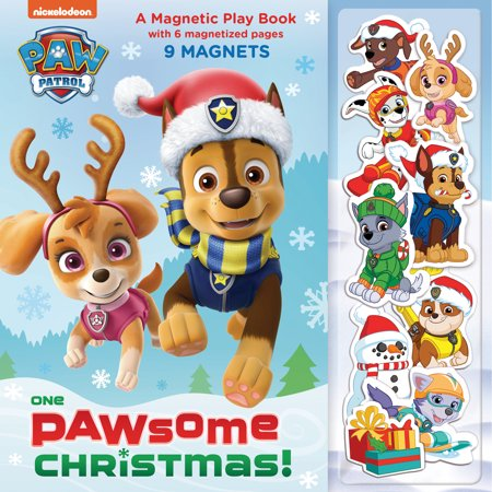 One Paw-some Christmas: A Magnetic Play Book (PAW Patrol) ()