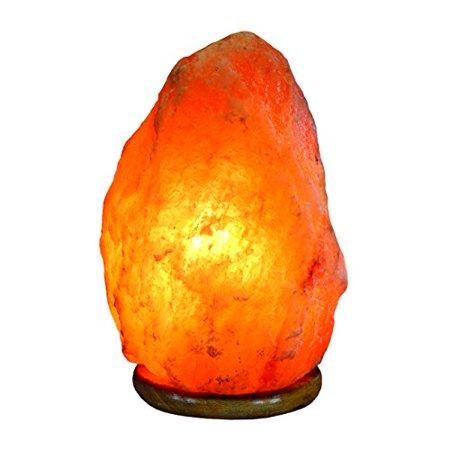 Himalayan crystal rock salt lamp 7 8 cleanses air and for Certified himalayan salt lamp