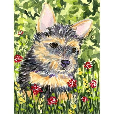 11 x 15 In. Norwich Terrier Flag, Garden -