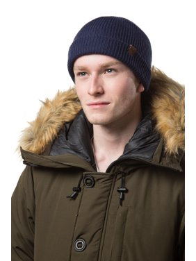 3698a8e6f4161b Product Image Gallery Seven Mens Knit Winter Beanie Hat - Knit Watch Cap -  Gift Pack - Olive