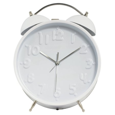 Better Homes And Gardens Jumbo Double Bell Alarm Clock