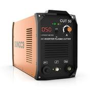 SUNCOO 50 Amp Plasma Cutter 110/220V, Portable Pro. Cut 50 Electric DC Inverter Metal Plasma Cutting Machine Dual Voltage with Digital Display, 1/2 Inch Clean Cut