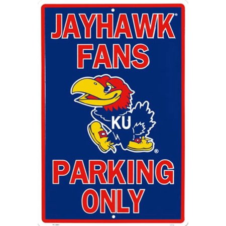 Kansas University Tin Sign - -