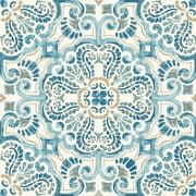 FloorPops! Fontaine 12 in. x 12 in. Peel and Stick Virgin Vinyl Floor Tiles (10-Pack)