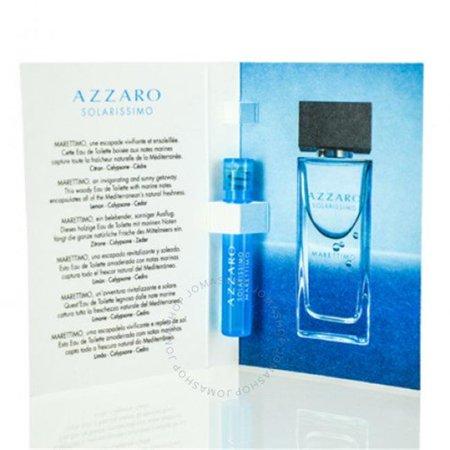 Azzaro SOMMTSV Mens Solarissimo Marettimo EDT Spray Vial - 0.04 oz & 1.2 ml ()