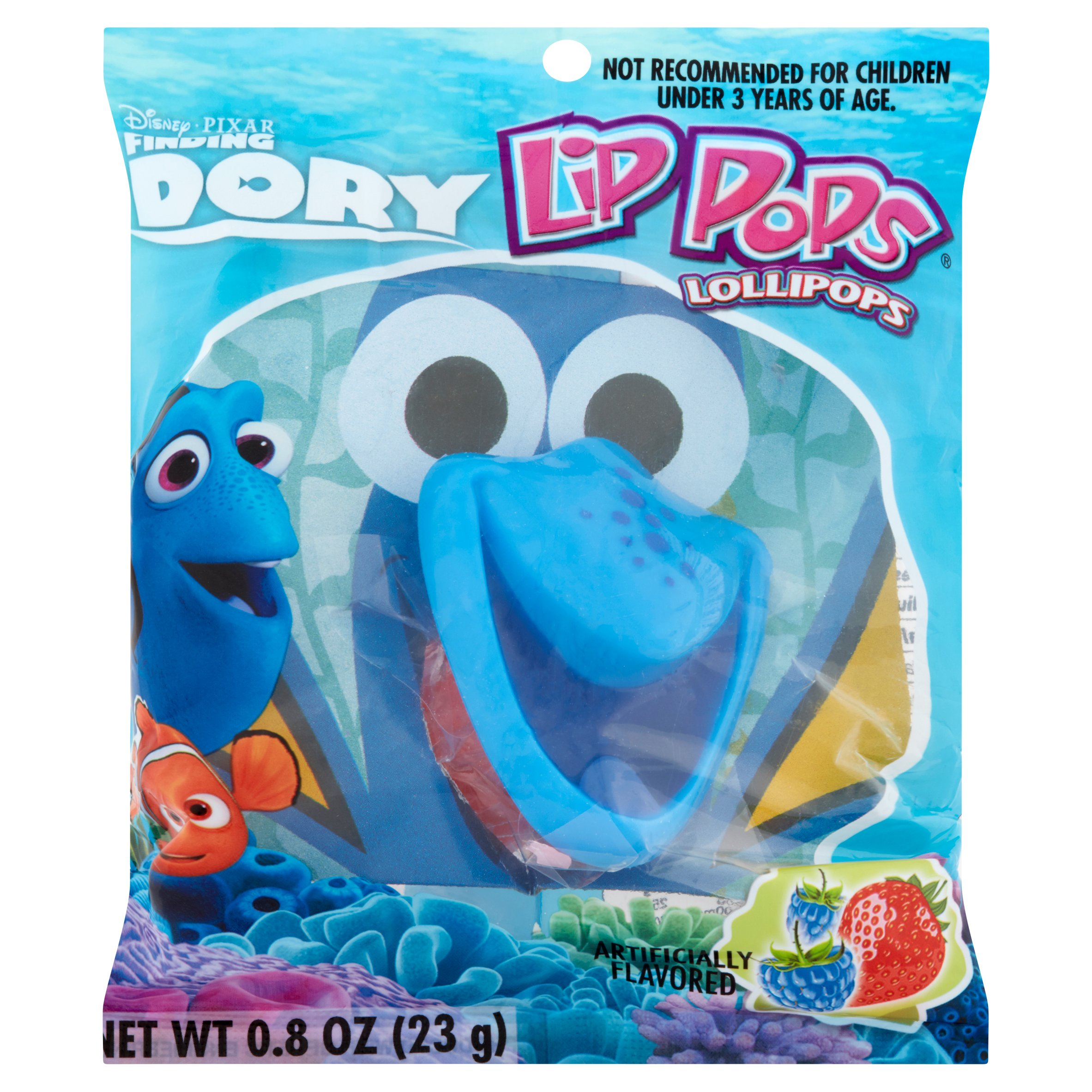 (5 Pack) Flix Candy Licensed Lip Pop Faves (assorted items/characters may vary)