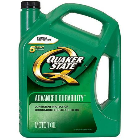 Quaker state conventional 10w40 advanced durability motor for 5 quart motor oil