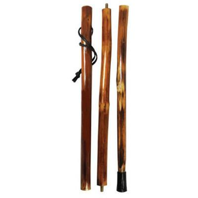 Natural Wooden Hiking Walking Walk Hike Stick Pole Collapsible (Polo Store Dallas)