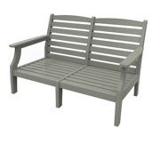 Love Seat by Malibu Outdoor - Monterey, Light Gray
