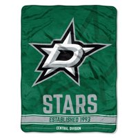 "NHL Dallas Stars ""Breakaway"" 46""x 60"" Micro Raschel Throw"