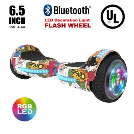 Flash Wheel UL 2272 Certified Hoverboard 6.5