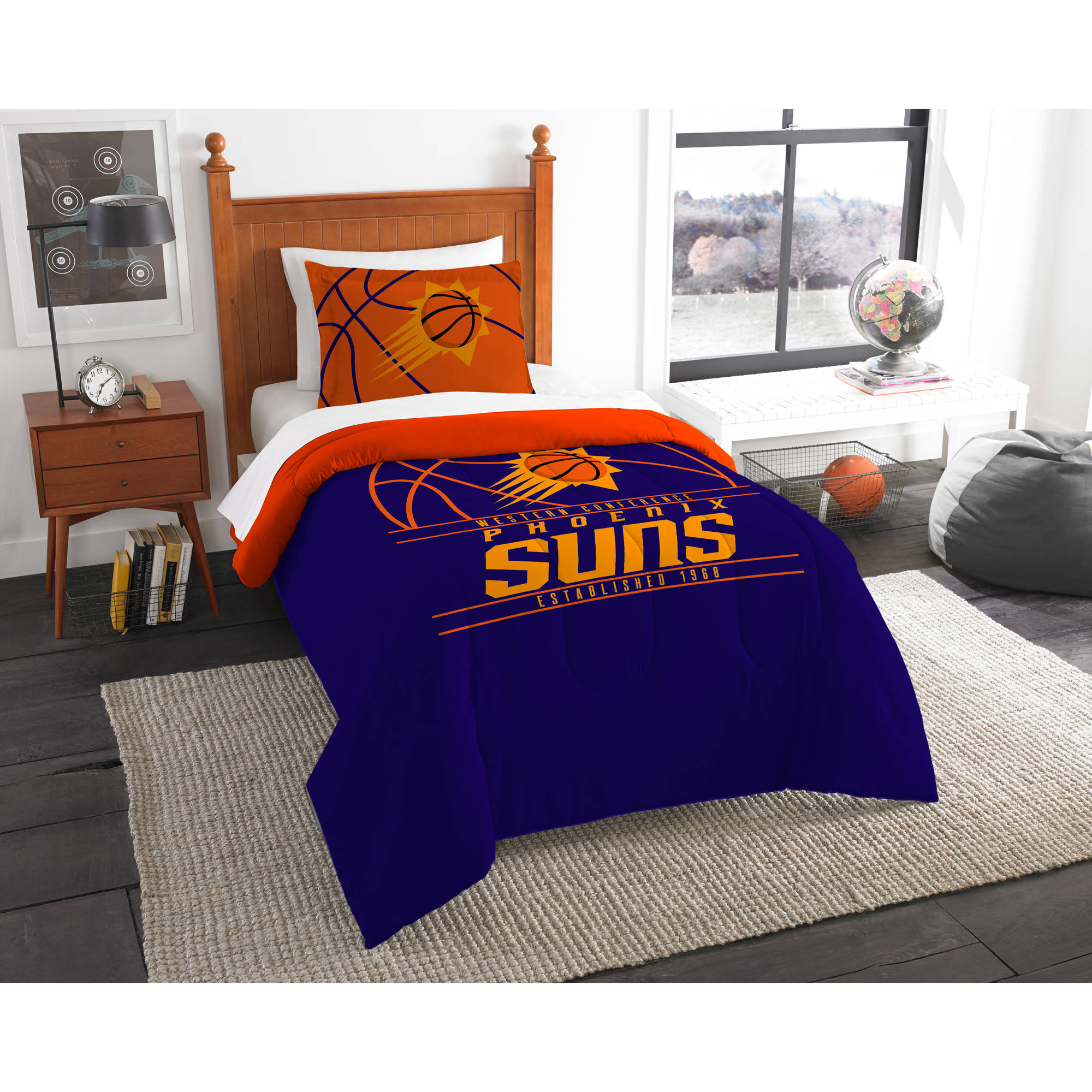 "NBA Phoenix Suns ""Reverse Slam"" Bedding Comforter Set"