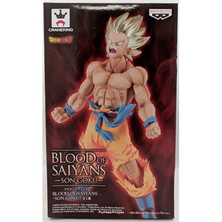Dragonball Z Blood Of Saiyans 6 Inch Static Figure - Son (Dragon Ball Z Blood In Blood Out Shirt)