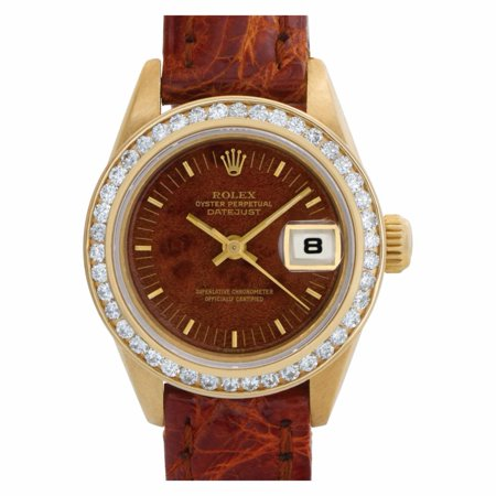 Pre-Owned Rolex Datejust 69178 Gold Women Watch (Certified Authentic & Warranty)