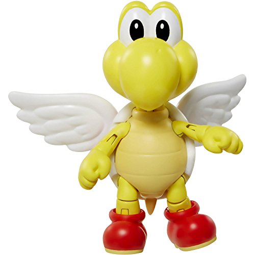 "Nintendo World of 3.5"" Paratroopa with Wings Figure Series 2-1"