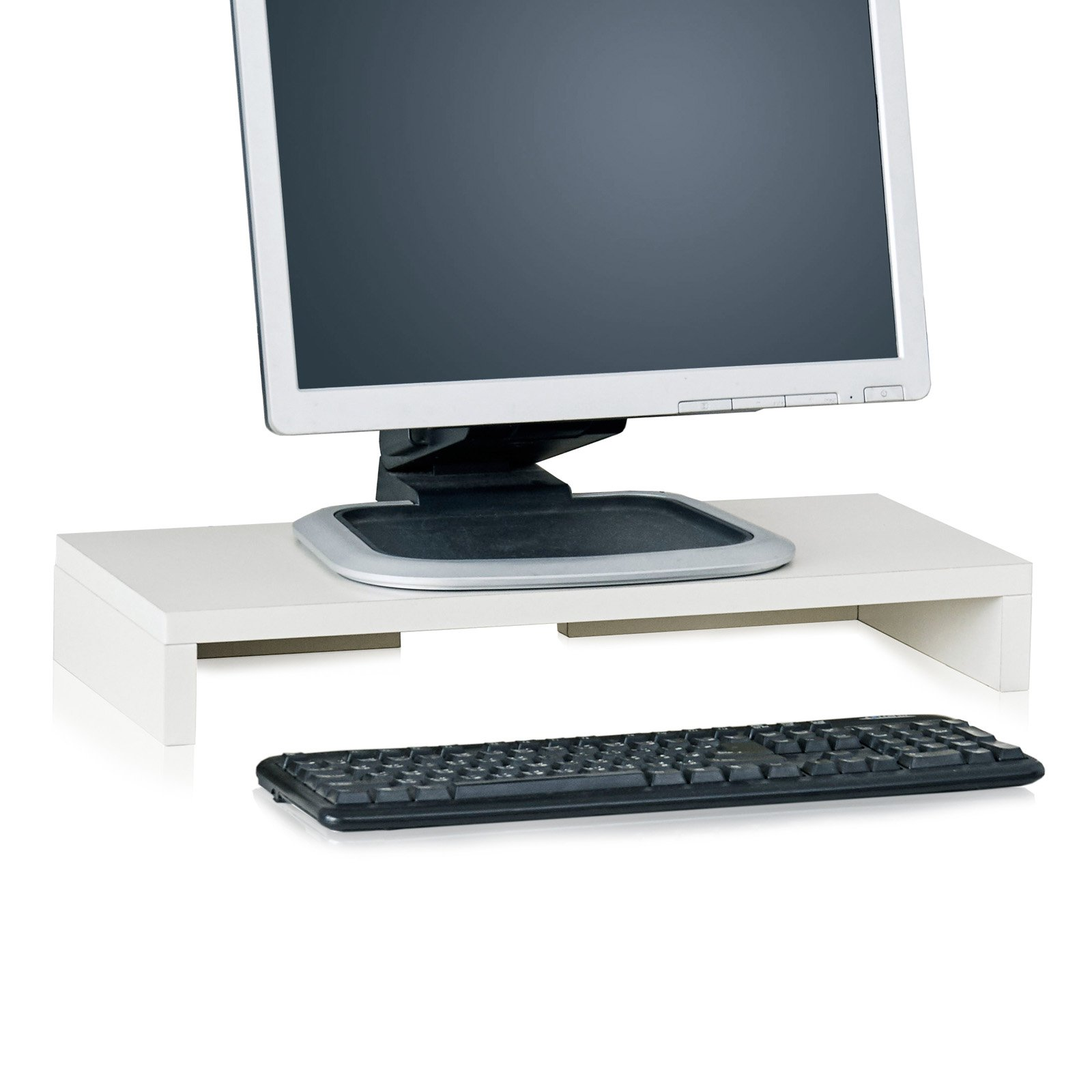 Way Basics Eco-Friendly Computer Monitor Stand, Multiple Colors
