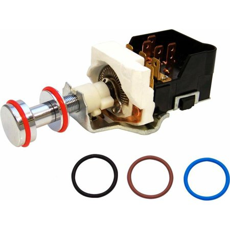 - Keep It Clean Wiring  GM Classic Billet Headlight Switch with 4 Color O-Rings
