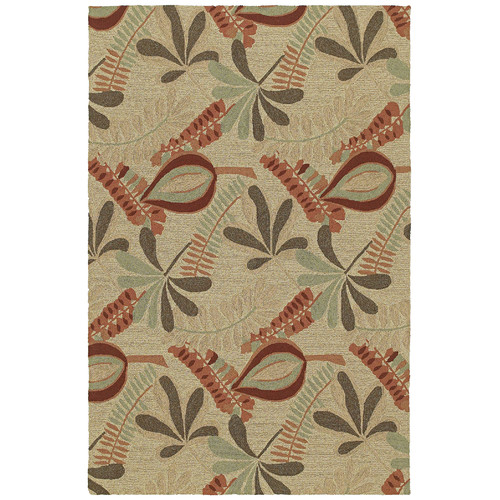 Kaleen Home & Porch Tybee Linen Indoor/Outdoor Area Rug