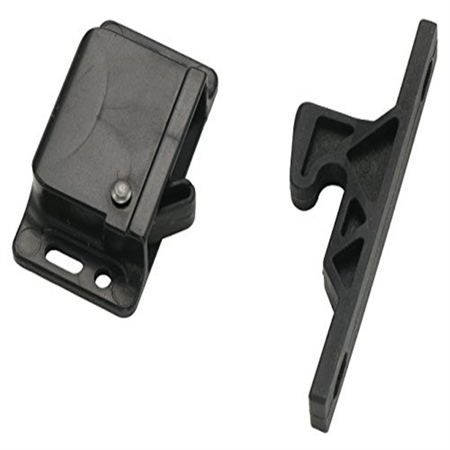 Decorite 5838 - RV Black Push Latch - 5lb - CL-308 (1)