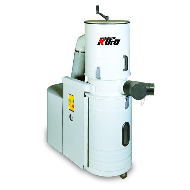 Kufo Seco UFO-DC102 2 Horsepower, Phase Total Enclosed Canister Dust Collector by Kufo Seco