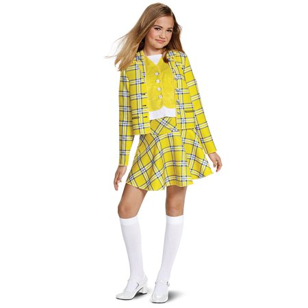 Clueless Cher Suit Classic Costume](Yellow Hazmat Suit Halloween)