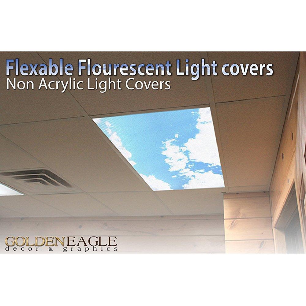 2ft X 4ft Drop Ceiling Fluorescent Decorative