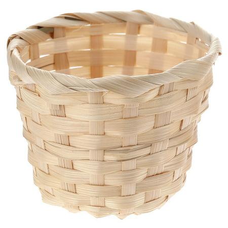 Fancyleo 2Pcs Large Household Essentials Medium Willow Waste Basket