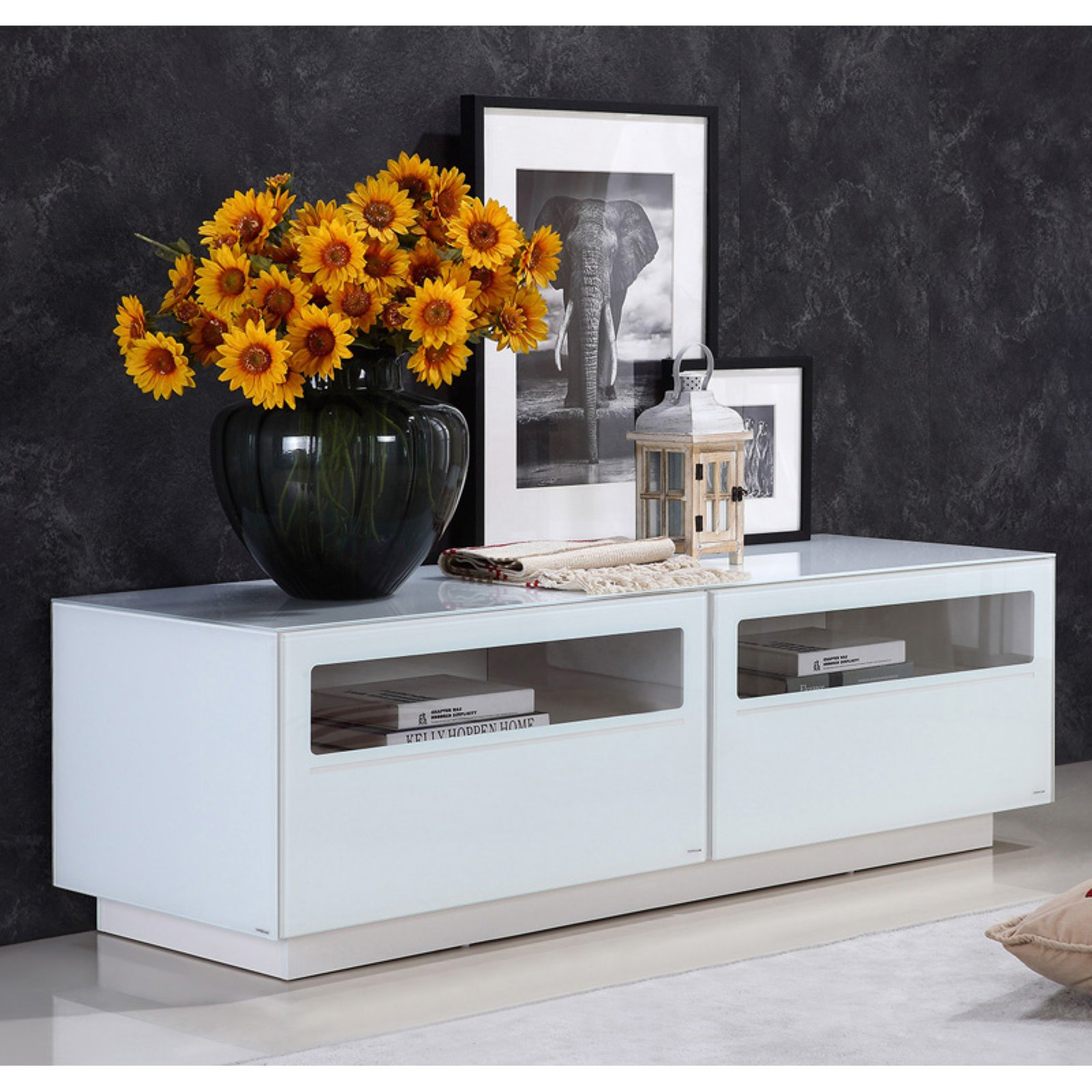Casabianca Furniture Corte 59 in. TV Stand