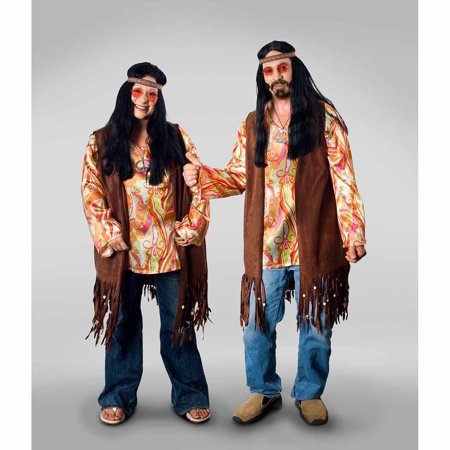 Lava Diva Hippie Shirt Women's Plus Size Adult Halloween Costume - Last Minute Hippie Halloween Costume