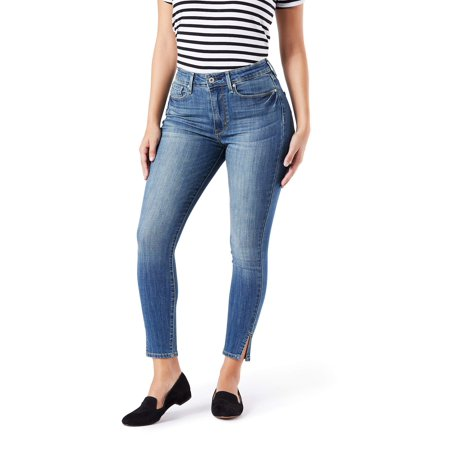Signature by Levi Strauss & Co. Women's High Rise Ankle Skinny Jean