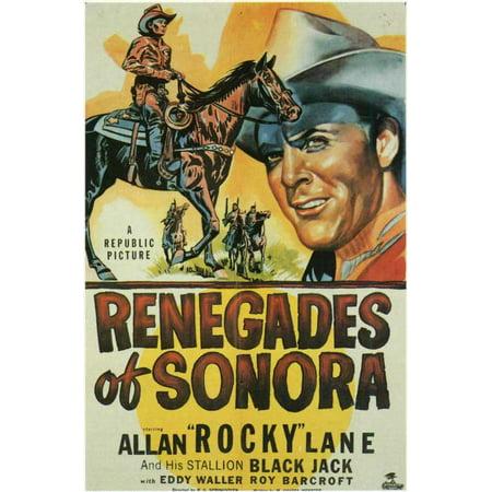 Renegades of Sonora POSTER Movie Mini Promo (Banda Sonora Halloween Mp3)