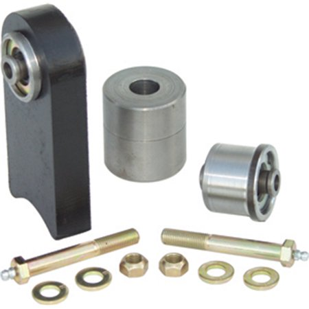 Currie CE-9102K1 Johnny Joint Kit; For Use On Dana 30 And 44 Front Differential Housing; Greasable 1/2 in. Thru Bolts;