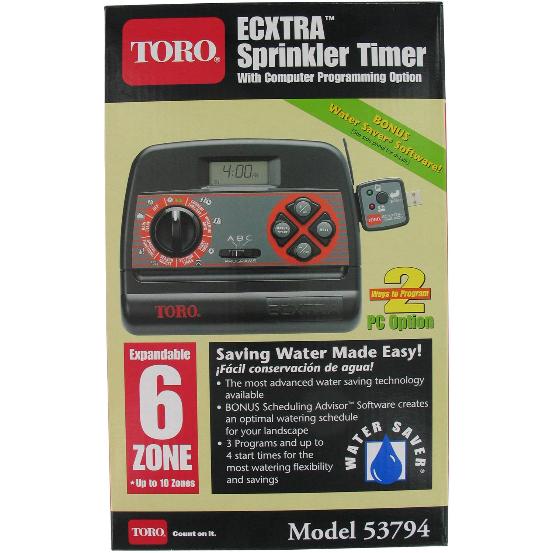 Toro 53794 6 Zone Indoor Sprinkler Timer