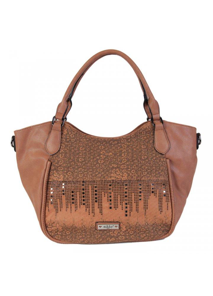 Nikky Fashion Gleaming Studs Tote Bag