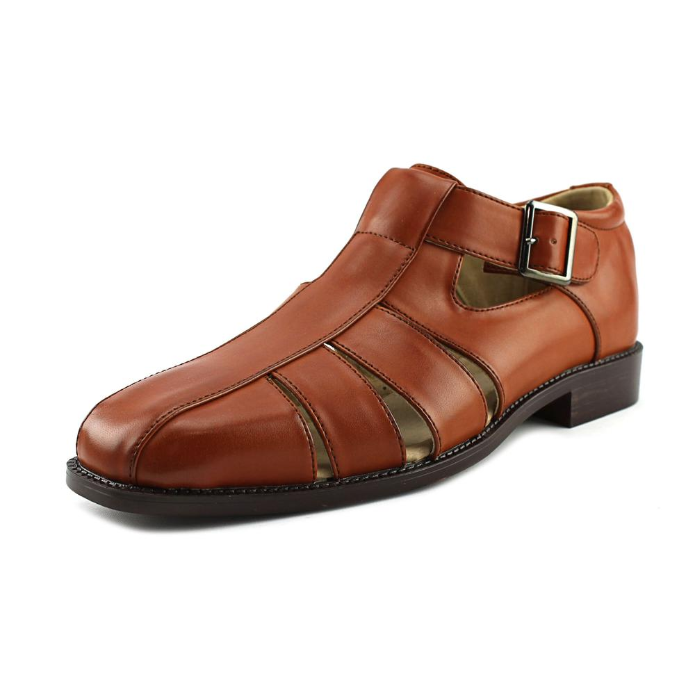 Stacy Adams Calisto Men Open Toe Synthetic Brown Sandals by Stacy Adams