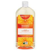 Seventh Generation Mandarin Natural Hand Wash Refill - Mandarin Orange And Grapefruit Scent - 32 Fl Oz [946.4 Ml] - Kill Germs - Hand - Clear - Triclosan-free, Dye-free, Synthetic Fragrance (22944ct)
