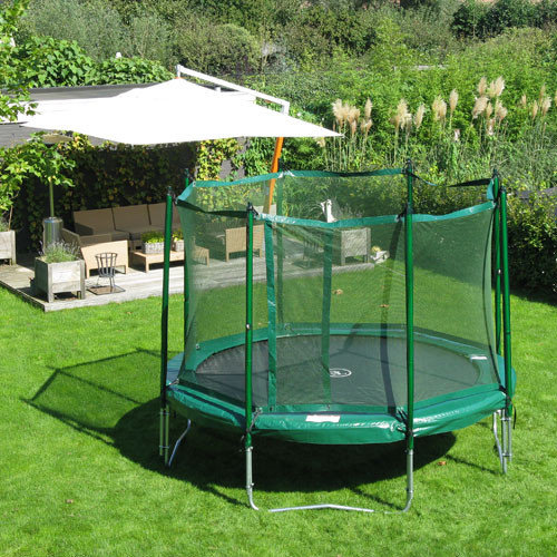 Kidwise Jumpfree 12 ft. Trampoline and Safety Enclosure