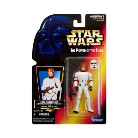 Star Wars the Power of the Force Luke Skywalker in Stormtrooper (Luke Skywalker's Sister)
